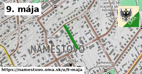 ilustrácia k 9. mája, Námestovo - 143m