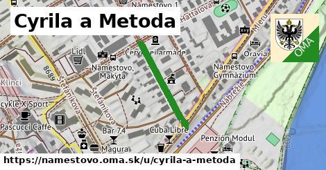 ilustrácia k Cyrila a Metoda, Námestovo - 215m