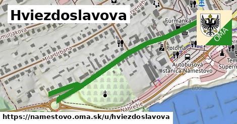 ilustrácia k Hviezdoslavova, Námestovo - 527m