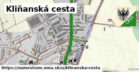 ilustrácia k Kliňanská cesta, Námestovo - 1,34km