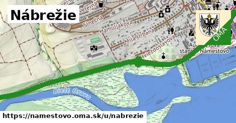 ilustrácia k Nábrežie, Námestovo - 3,9km
