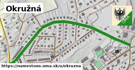 ilustrácia k Okružná, Námestovo - 0,79km