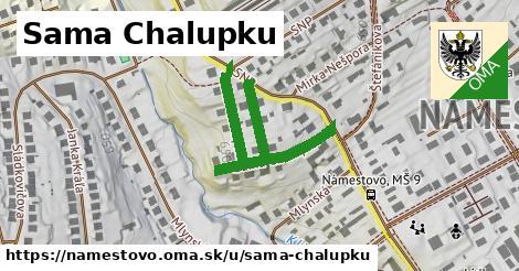 ilustrácia k Sama Chalupku, Námestovo - 443m