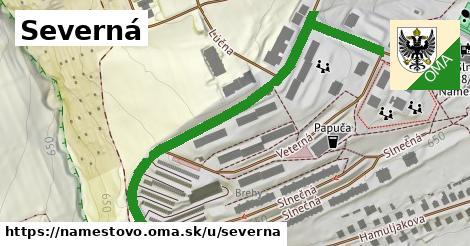 ilustrácia k Severná, Námestovo - 0,71km
