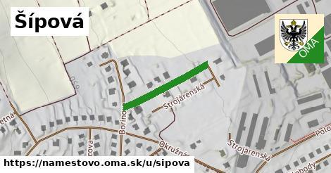 ilustrácia k Šípová, Námestovo - 154m