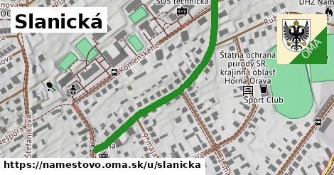 ilustrácia k Slanická, Námestovo - 2,3km