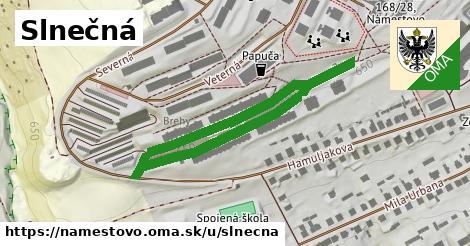 ilustračný obrázok k Slnečná, Námestovo