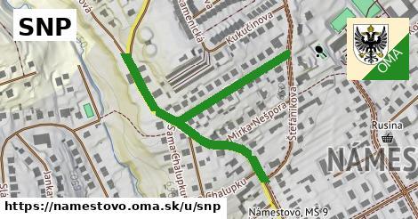 ilustrácia k SNP, Námestovo - 0,73km