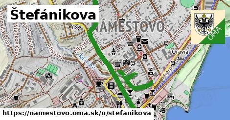 ilustrácia k Štefánikova, Námestovo - 1,34km
