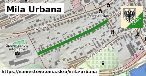 ilustrácia k Mila Urbana, Námestovo - 391m