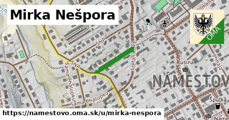 ilustrácia k Mirka Nešpora, Námestovo - 142m