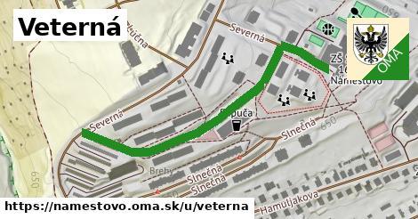 ilustrácia k Veterná, Námestovo - 312m