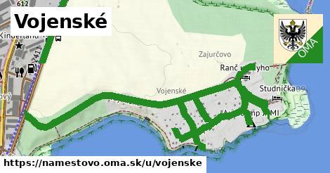ilustrácia k Vojenské, Námestovo - 1,28km