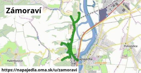 ilustrácia k Zámoraví, Napajedla - 4,5km
