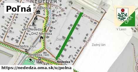 ilustrácia k Poľná, Nededza - 281m