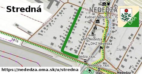 ilustrácia k Stredná, Nededza - 336m