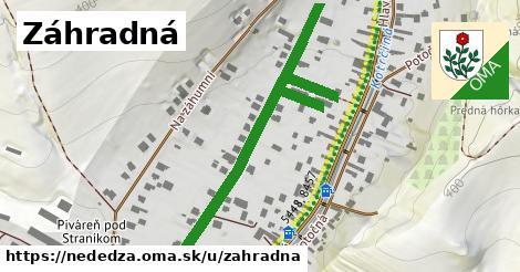 ilustrácia k Záhradná, Nededza - 554m
