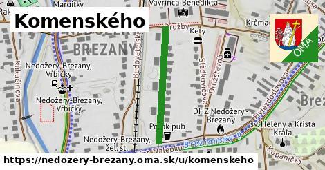 ilustrácia k Komenského, Nedožery - Brezany - 267m