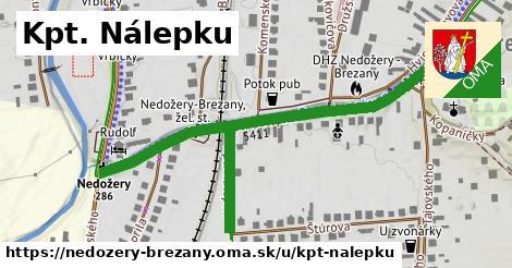 ilustrácia k Kpt. Nálepku, Nedožery - Brezany - 502m