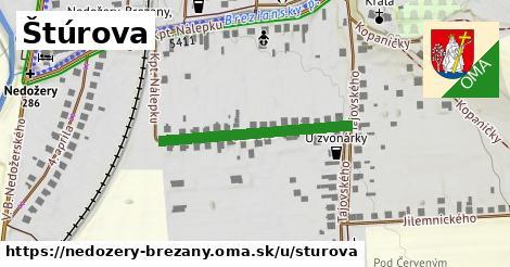 ilustrácia k Štúrova, Nedožery - Brezany - 439m