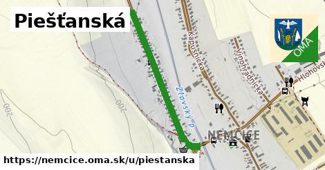 ilustrácia k Piešťanská, Nemčice - 0,73km