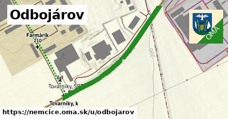 ilustrácia k Odbojárov, Nemčice - 446m