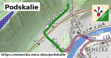 ilustrácia k Podskalie, Nemecká - 446m