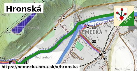 ilustrácia k Hronská, Nemecká - 1,43km