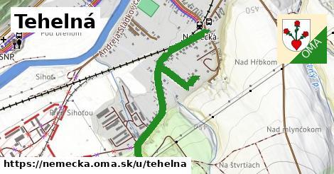 ilustrácia k Tehelná, Nemecká - 0,99km