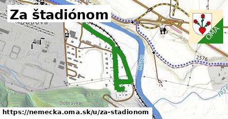 ilustrácia k Za štadiónom, Nemecká - 0,89km