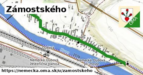 ilustrácia k Zámostského, Nemecká - 689m