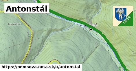 ilustrácia k Antonstál, Nemšová - 6,8km