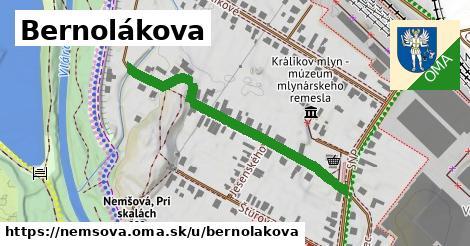 ilustrácia k Bernolákova, Nemšová - 428m