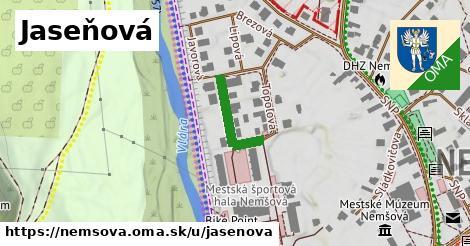ilustrácia k Jaseňová, Nemšová - 156m
