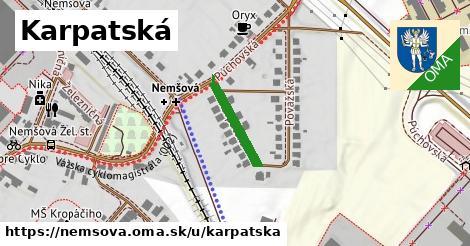 ilustrácia k Karpatská, Nemšová - 151m