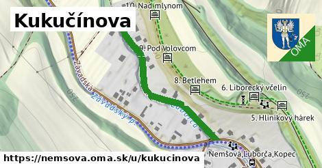 ilustrácia k Kukučínova, Nemšová - 409m