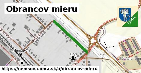 ilustrácia k Obrancov mieru, Nemšová - 465m