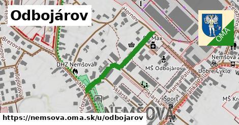 ilustrácia k Odbojárov, Nemšová - 304m