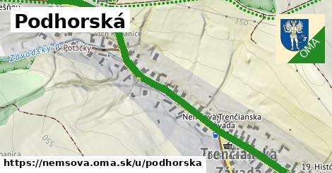 ilustrácia k Podhorská, Nemšová - 0,98km