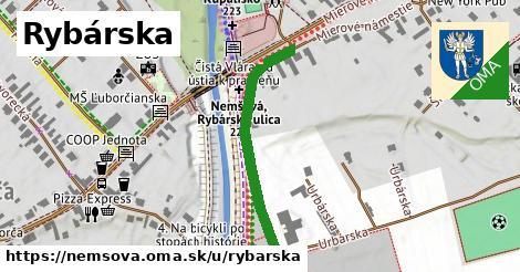 ilustrácia k Rybárska, Nemšová - 321m