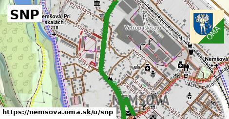 ilustrácia k SNP, Nemšová - 1,17km