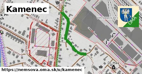 ilustrácia k Kamenec, Nemšová - 292m
