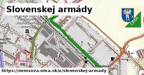 ilustrácia k Slovenskej armády, Nemšová - 0,97km