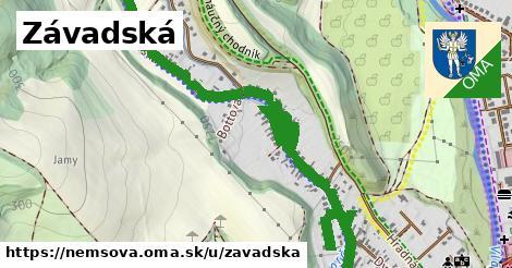 ilustrácia k Závadská, Nemšová - 1,67km