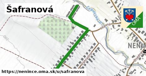 ilustrácia k Šafranová, Nenince - 599m