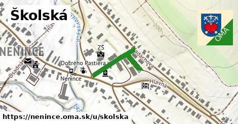 ilustrácia k Školská, Nenince - 231m