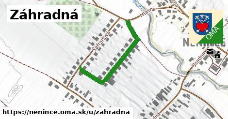 ilustrácia k Záhradná, Nenince - 348m