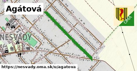 ilustrácia k Agátová, Nesvady - 0,74km