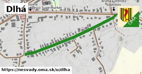 ilustrácia k Dlhá, Nesvady - 570m