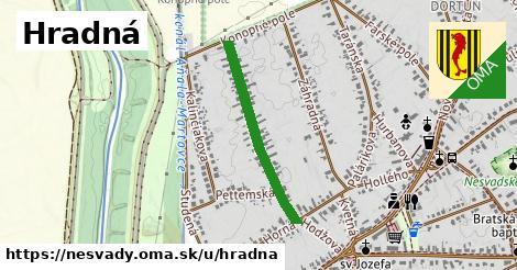 ilustrácia k Hradná, Nesvady - 572m